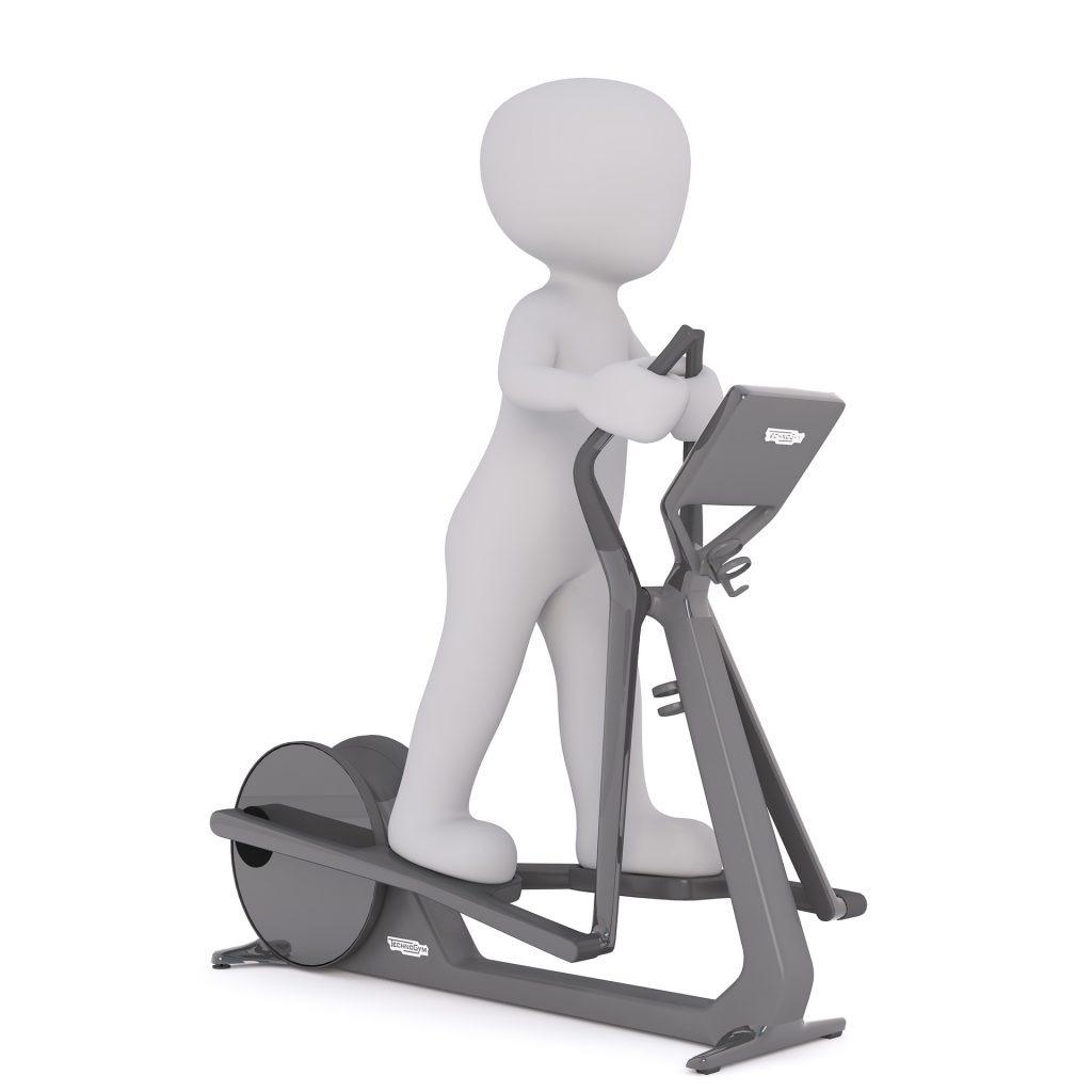 Crosstrainer - platzsparendes Workout auf koerperfett-analyse.de