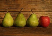 Fett, die Apfelform und die Birnenform - Körpertypen auf koerperfett-analyse.de